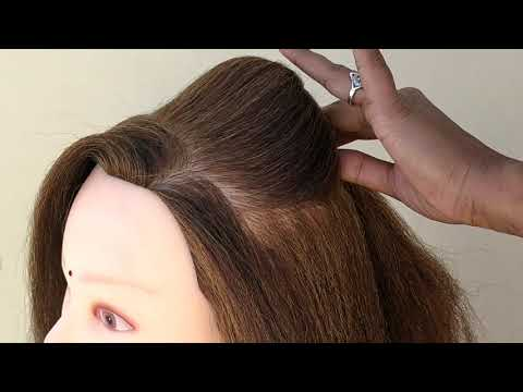 Beautiful Hairstyle For Party thumbnail