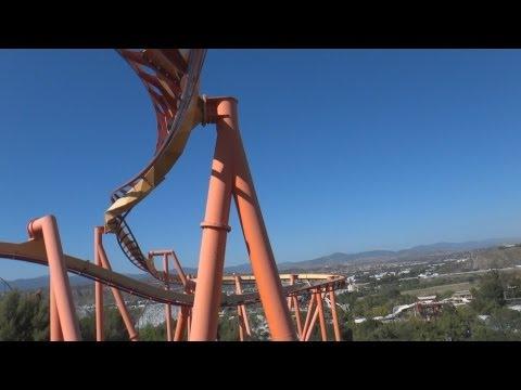 Tatsu (On-Ride) Six Flags Magic Mountain