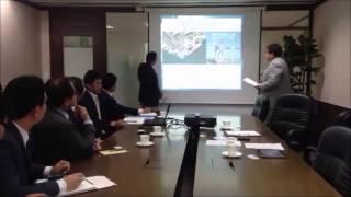 韓国の海運会社へのポートセールス