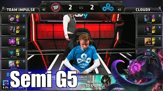 Team Impulse vs Cloud 9 | Game 5 Semi Finals S5 NA LCS Regional Qualifier for Worlds | TIP vs C9 G5