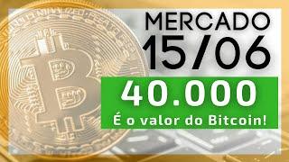 Bitcoin 40.000 USD. O que vem agora?