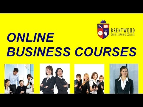 Accredited Business courses, Business administration Courses Online