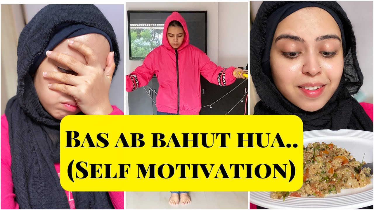 BAS AB BAHUT HUA | SELF MOTIVATION | HEALTHY BREAKFAST RECIPE | WEIGHT LOSS TIPS | SABA IBRAHIM