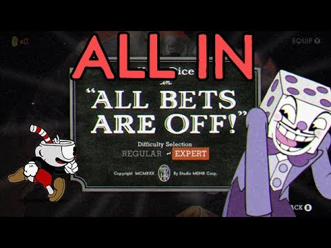 Cuphead All In Challenge: All Bets Are Off! (All Mini-Bosses)