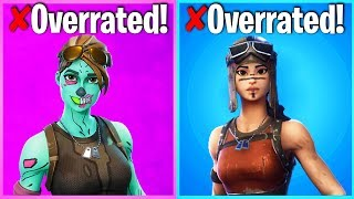 Baixar 10 MOST OVERRATED FORTNITE SKINS (skins u only like cuz theyre rare)