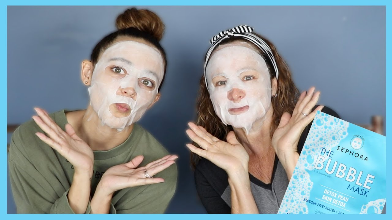 BUBBLE MASK REVIEW   Monday Masks With Mami