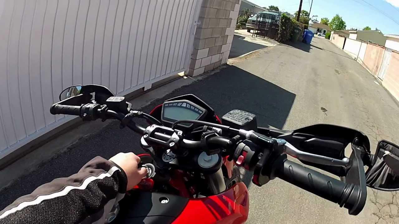 2012 Ducati Hypermotard 796 - short walkaround - YouTube