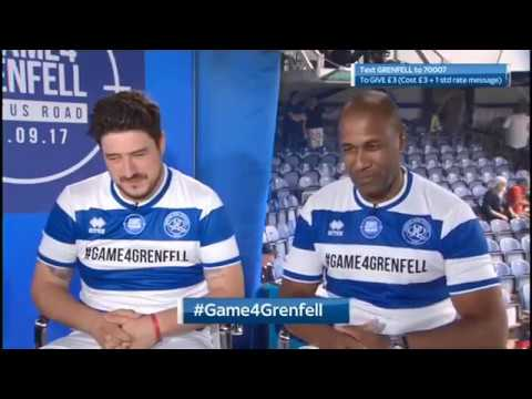 Highlights of Marcus Mumford during Game4Grenfell