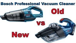 Bosch GAS 18V-LI vs NEW GAS 18V-1 comparison