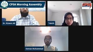 CPSA Morning Assembly Friday 3-5-2021