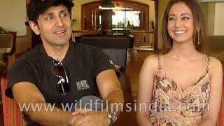 Indian actors Pravin Dabas and Preeti Jhangiani talk about their movie 'With Love Tumhara'