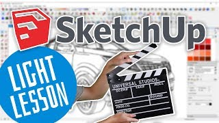 SketchUP - Сохранение и настройка видов (SketchUP уроки)