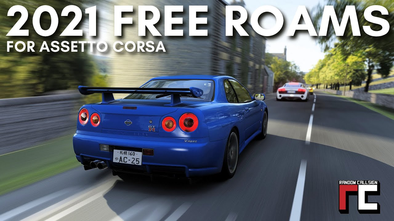 Random Callsign: Top 5 free roam mods in Assetto Corsa