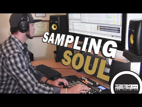 Beat Making 2016: Flipping a Soul Sample (prod. by TCustomz) | East Coast Hip Hop
