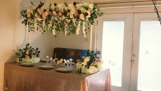 DIY- Enchanted Garden High Centerpiece DIY -wedding decor