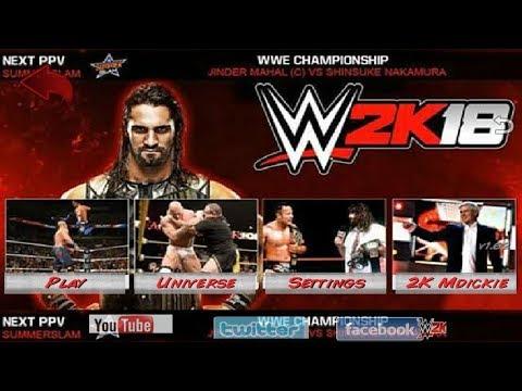 Descargar WWE 2K18 para Android en Español (Wrestling Revolution 3D MOD)