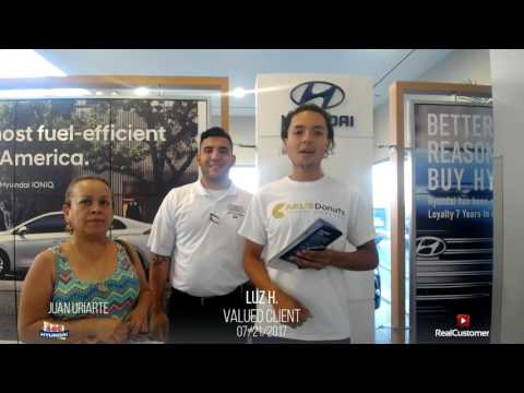 Luz from Las Vegas Loved Their Purchase Experience At ABC Hyundai