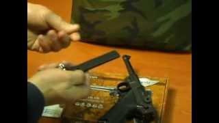 Пневматический пистолет Luger P08 Parabellum 4,5 мм Umarex