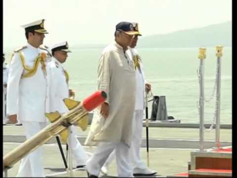 India's Defence Minister reviews operational preparedness at Western Naval Command in Mumbai