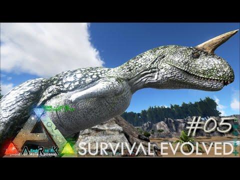ARK: Survival Evolved Ep 05 - Albino Dinos!!! (Server Let's Play)