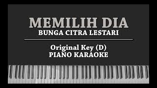 Memilih Dia (karaoke Piano Cover) Bunga Citra Lestari With Lyrics