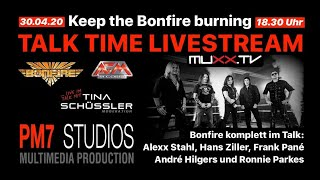 Talk Time: BONFIRE und TINA SCHÜSSLER