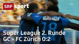 GC - FC Zürich 0:2 – Highlights | Runde 2 | Super League 2018/19