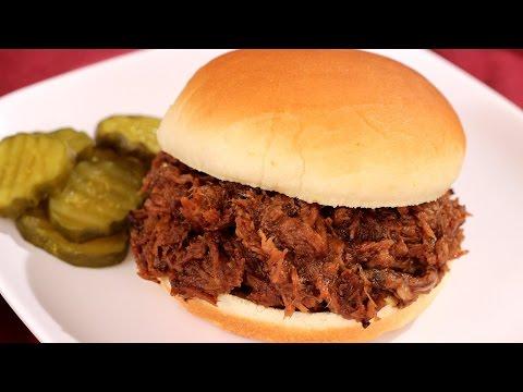 Crock Pot Barbecue Beef Recipe - Amy Lynn's Kitchen