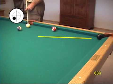 Masse Shot Ball Curve Technique And Aiming System For Pool And - Masse pool table