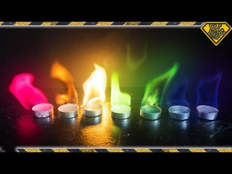 DIY Rainbow Fire