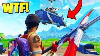 THE BUS LEFT ME AT SPAWN ISLAND.. WTF (Fortnite Funny Fails and WTF Moments) #13