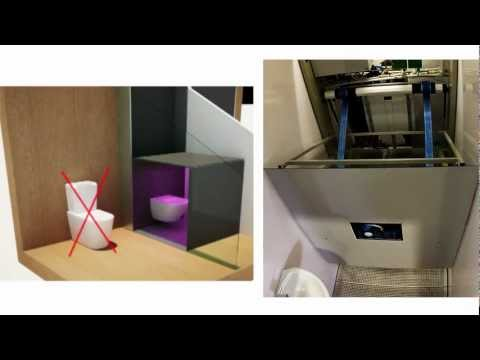 Self Cleaning Toilet. World Patent