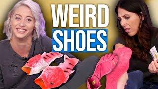 7 Weirdest Shoes on the Internet (Beauty Break)