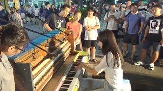 피아노배틀 실사판 혼자 다 연주함 (문아람)