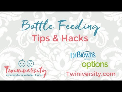 Bottle Feeding Tips and Hacks with Dr. Brown's