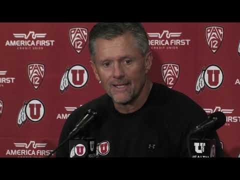 2018 Utah football: Kyle Whittingham talks Utes' 42-10 win over Arizona