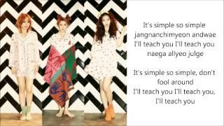4Minute - I'll Teach You