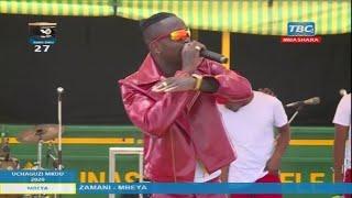 🔴#LIVE: DIAMOND AITEKA SHOO Akipafomu MBELE ya MAGUFULI kwenye KAMPENI MBEYA...