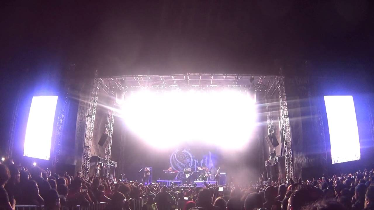 Download OPETH LIVE FULL CONCERT (1080p) @ KNOTFEST MEXICO October 16th 2016