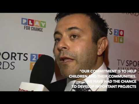 Video by Tuttosport | Interview with Andrea Radrizzani at the TV Sports Awards