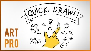 QuickDraw - Drawing game online (Pictionary)