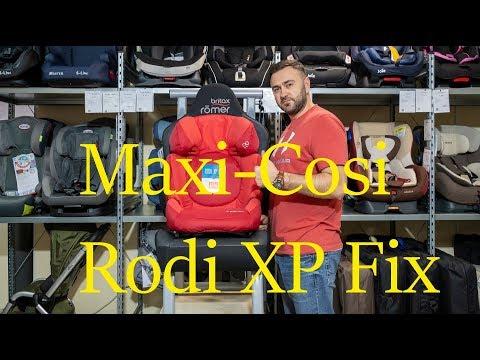 Подробный обзор Maxi-Cosi Rodi XP Fix – автокресла от 3 до 12 лет