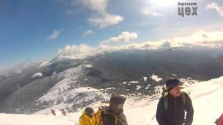 Восхождение на Говерлу и Петрос - Школа альпинизма(, 2014-02-28T09:16:20.000Z)