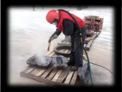 sandblasting in calgary video.wmv
