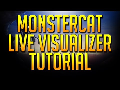 Rainmeter - Monstercat Live Visualizer with Spotify (Free and Easy!)