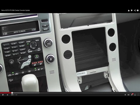 Volvo XC70 V70 S80 Center Console Update