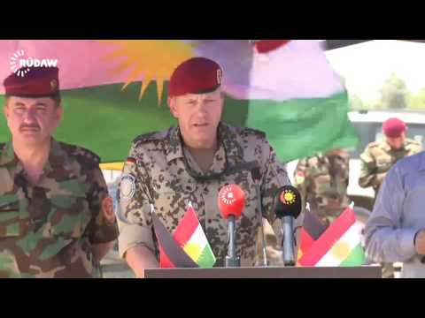 Germany opens two military training centres near Erbil