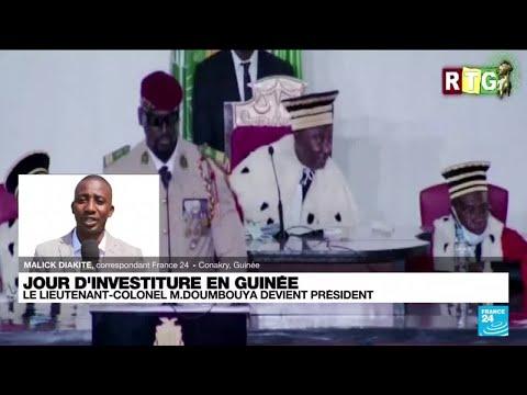 Guinée : le président de transition s'engage à ne pas être candidat à de futures élections