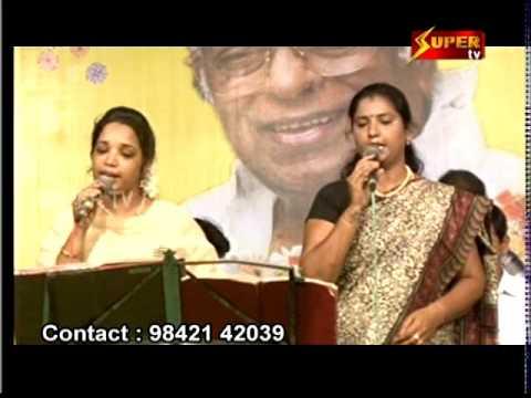 Thiruvudaiyan Song in Angingu Orchestra by Super tv   Thangachi chinna ponnu