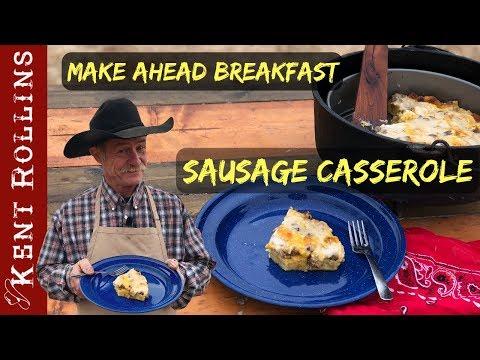 Easy Sausage Breakfast Casserole - Christmas Inspired Recipe